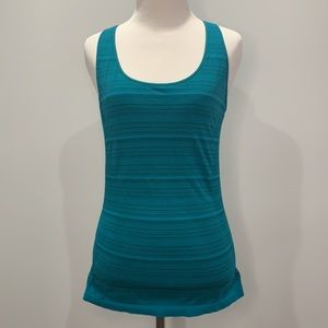 Electric Yoga Racerback Tank W/Built In Support